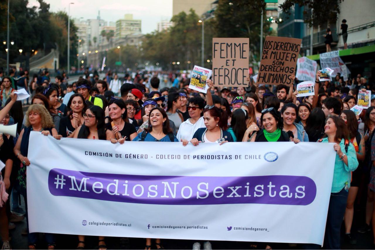 Foto: Archivo movilización Medios No sexistas.