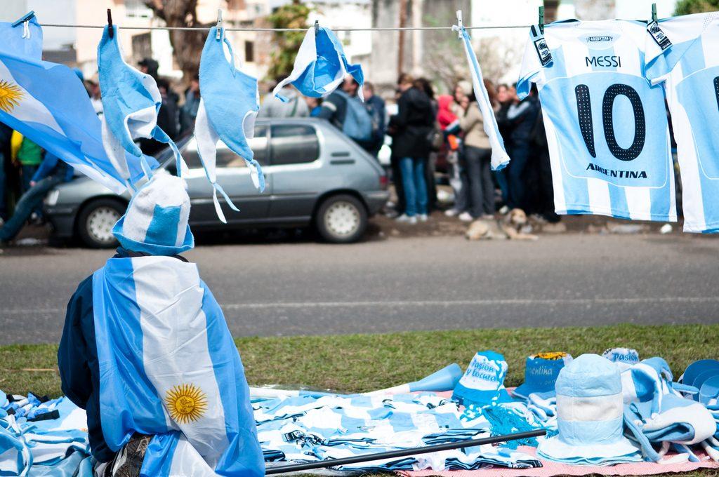 """Argentina no jugará con Israel tras cuestionamientos / Foto de Wagner T. Cassimiro """"Aranha"""" / Attribution 2.0 Generic (CC BY 2.0)"""