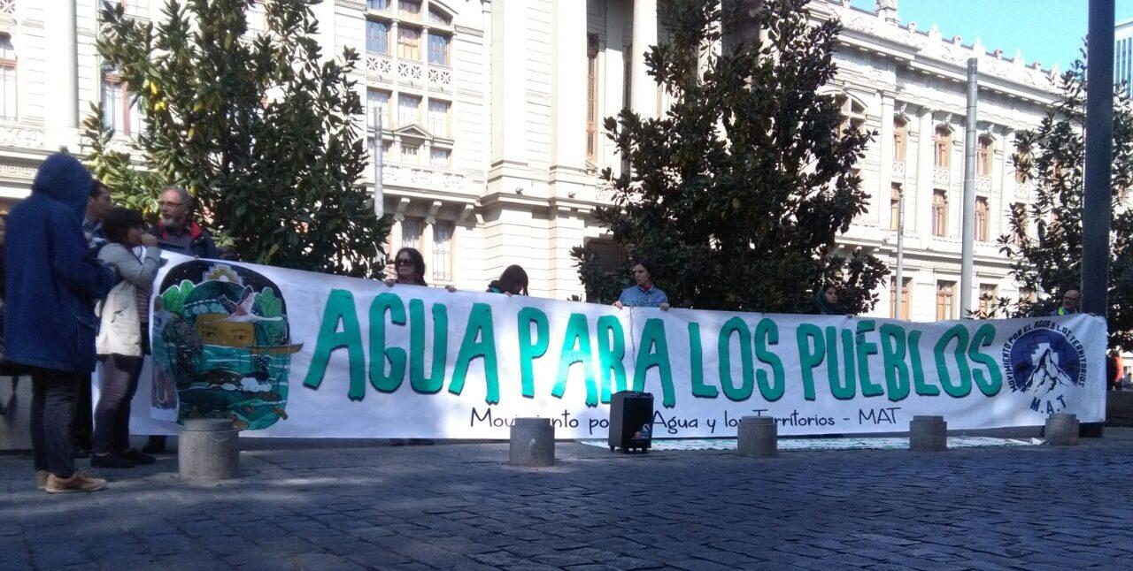 Foto archivo: Movimiento por las aguas y los territorios, MAT