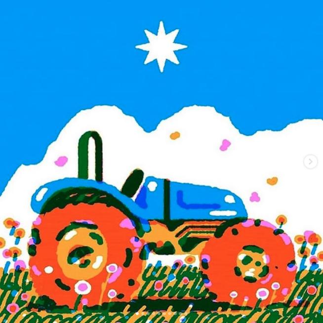 ilustración camilo catrillanca