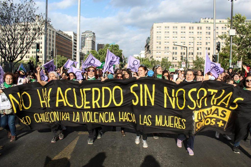 paridad red chilena contra la violencia hacia las mujeres