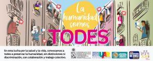 """Campaña """"La Humanidad somos TODES"""" de la Universidad de Chile"""
