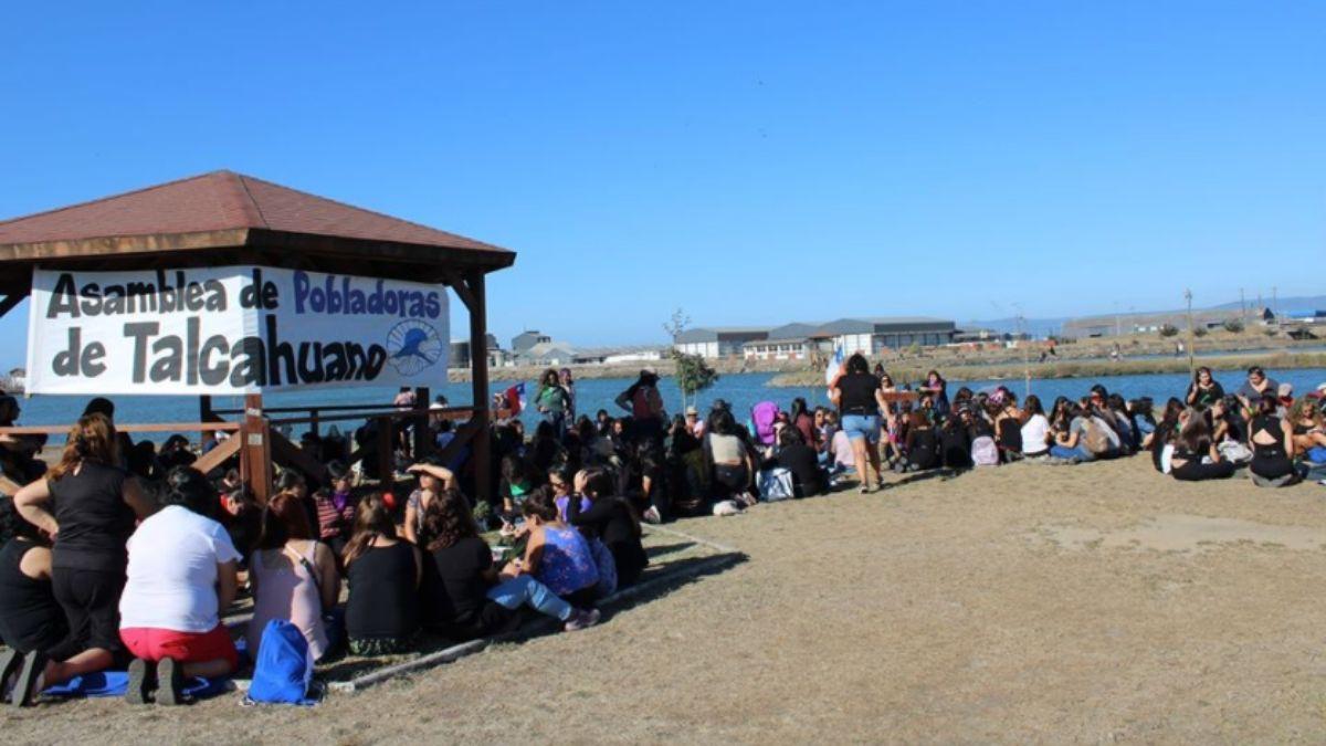 Asamblea de Pobladoras del Tralka Wenu, Talcahuano