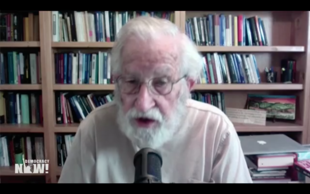 Noam Chomsky en Democracy Now!