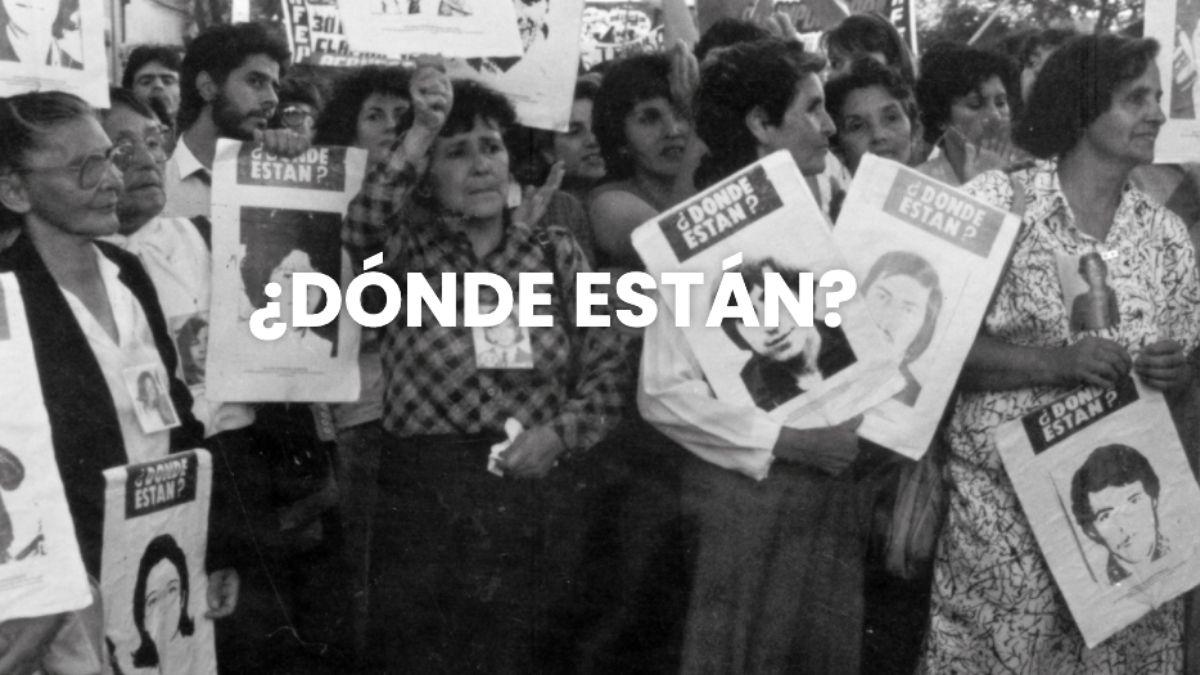Foto: Agrupación de Familiares de Detenidos Desaparecidos