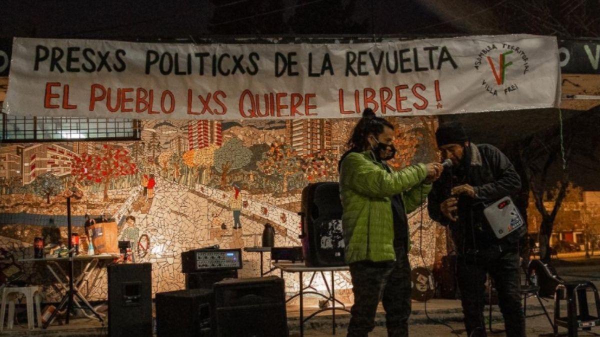 Foto: Coordinadora 18 de Octubre - Actividad en Villa Frei
