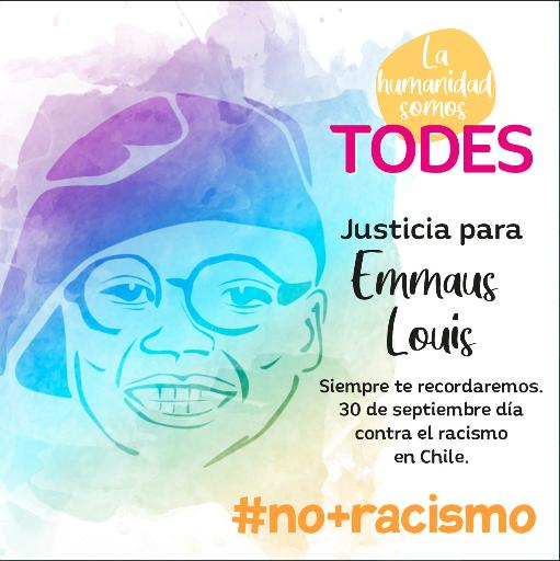 """Campaña """"La humanidad somos todes"""" de la Cátedra de Racismos y Migraciones Contemporáneas de la Universidad de Chile."""