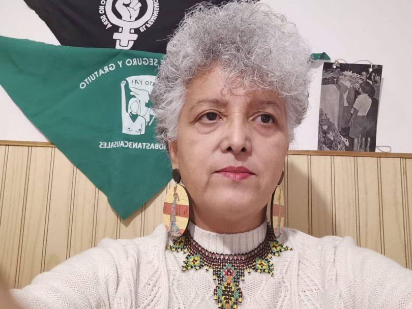 Foto: Milene Molina, integrante de la Coordinadora Cono Sur de Mujeres Afrodescendientes