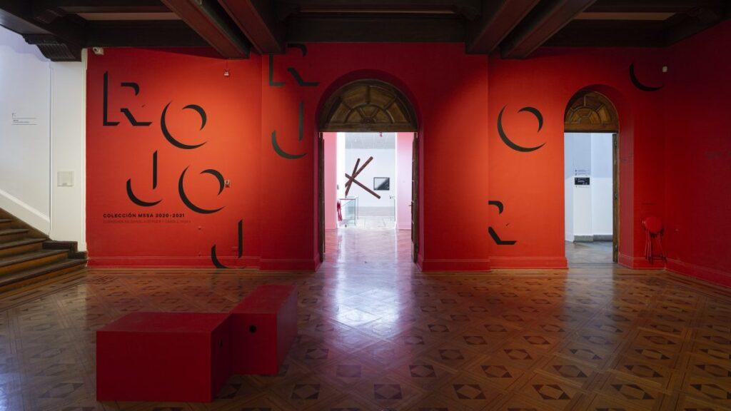 Vista de acceso a la exposición. Crédito: Benjamín Matte