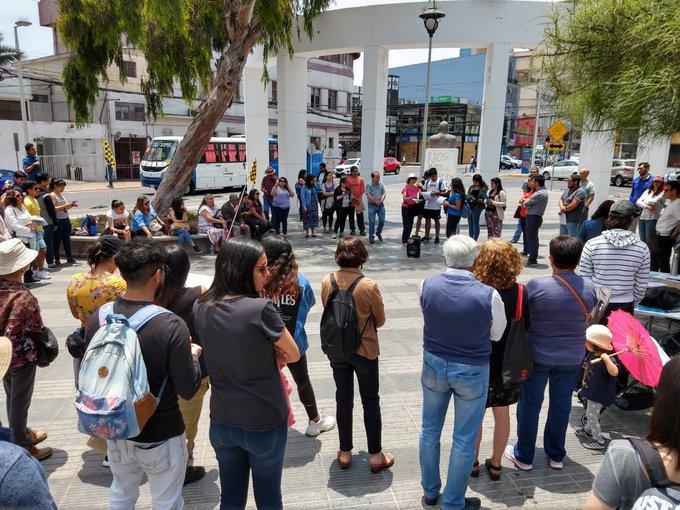 Foto: Cabildo ciudadano en Antofagasta. Diario Antofagasta. 3 noviembre 2019.