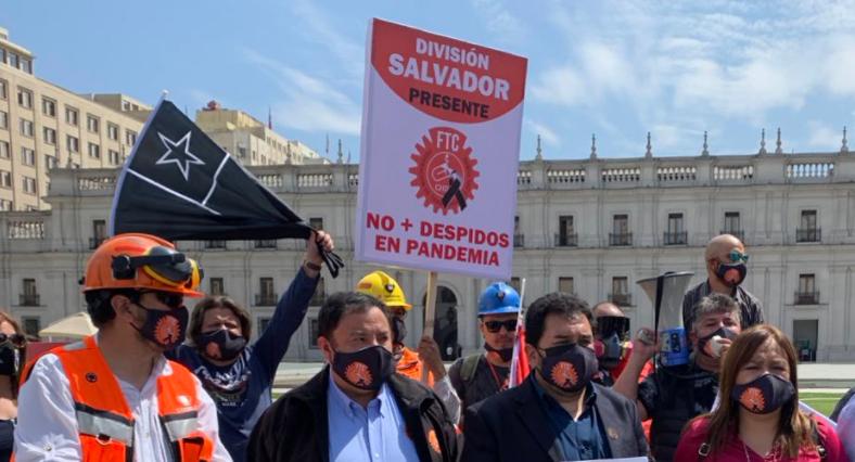 Foto: Federación de trabajadores del Cobre