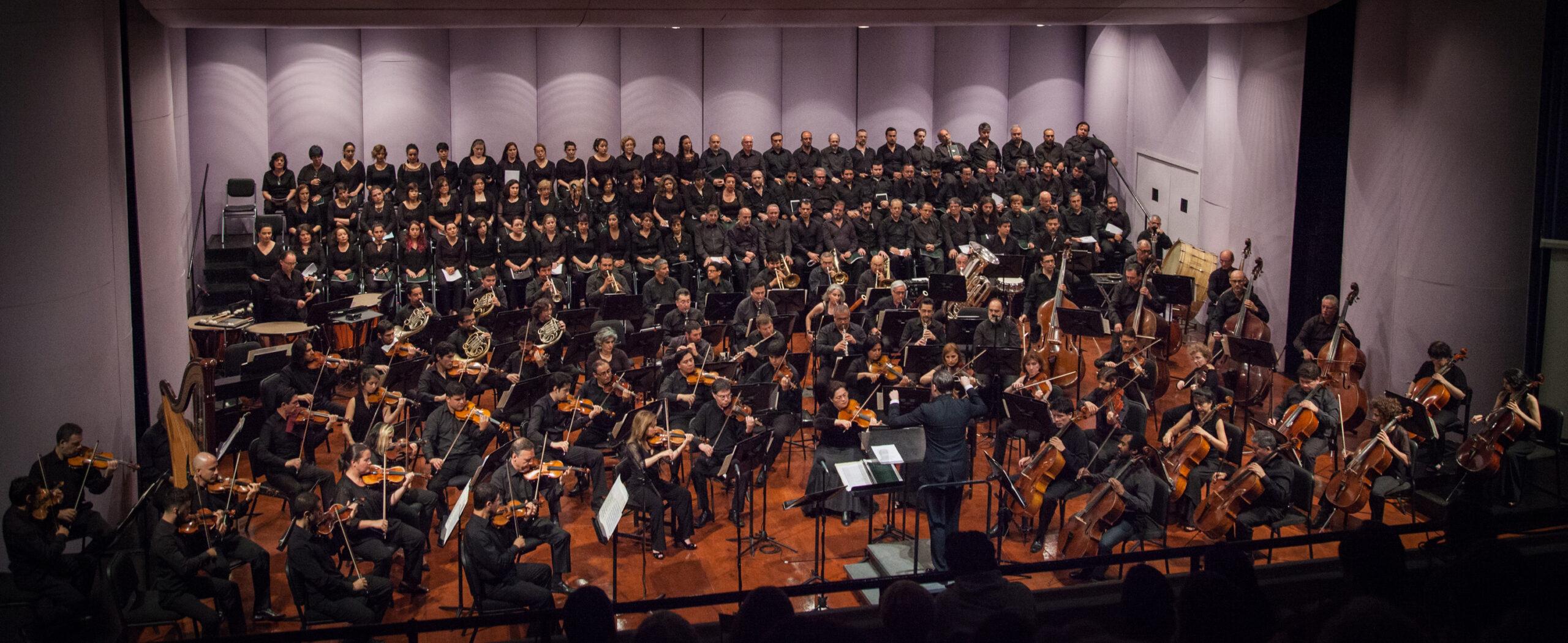 Foto: Camerata Vocal de la Universidad de Chile, CEAC.