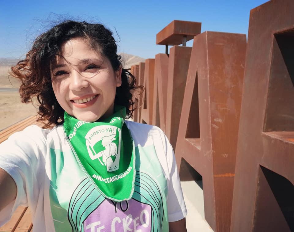 andrea rojas de red feminista chañaral