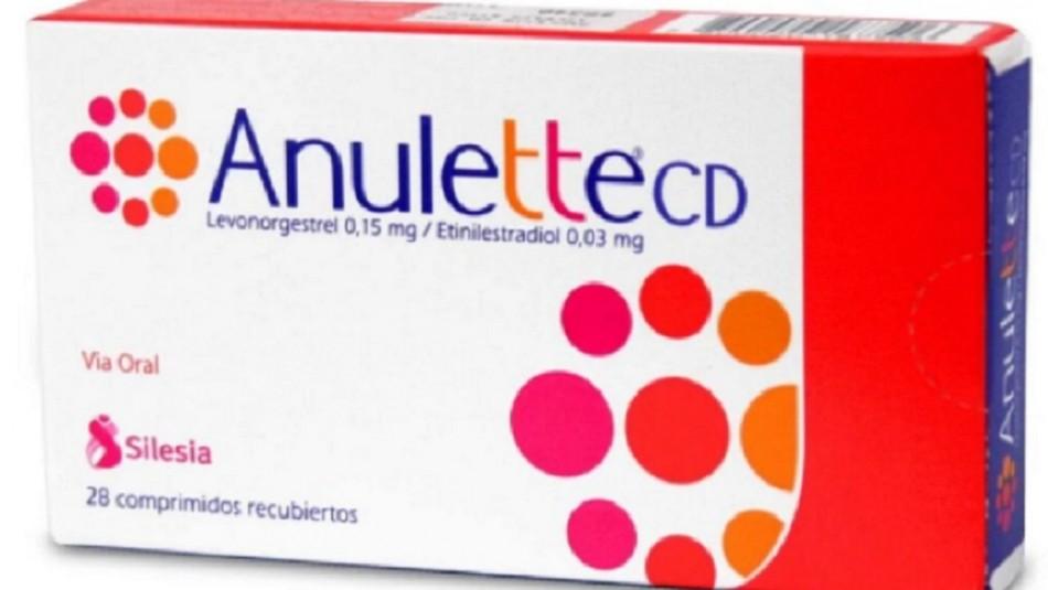 pastillas anulette anticonceptivos defectuosos