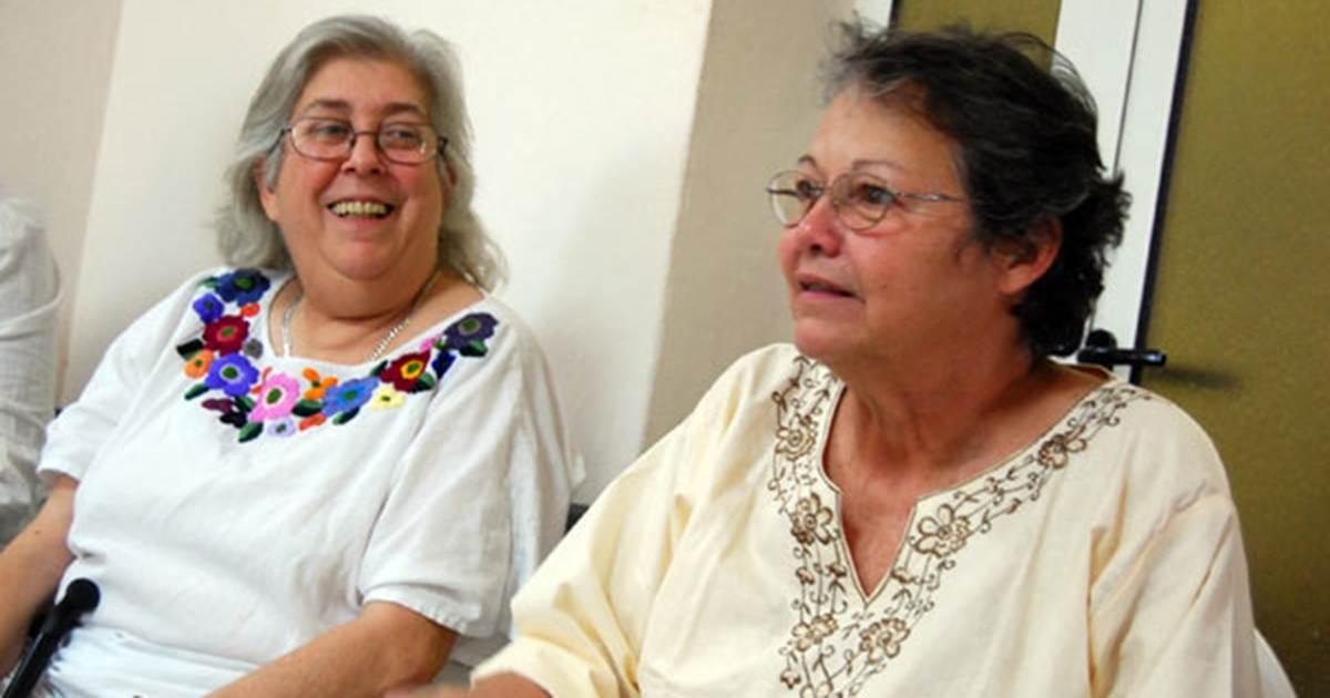Sara González y Diana Balboa