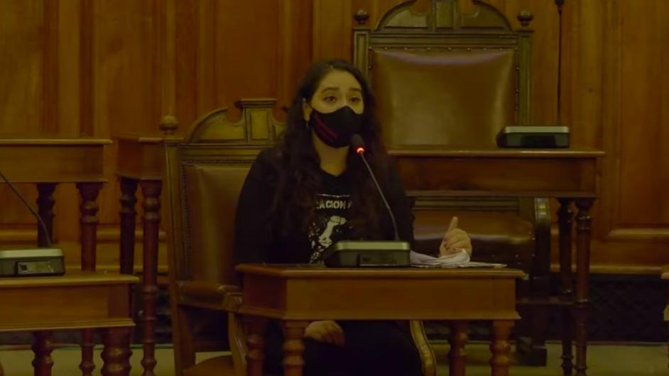 Activista por los derechos animales, Gabriela Acosta