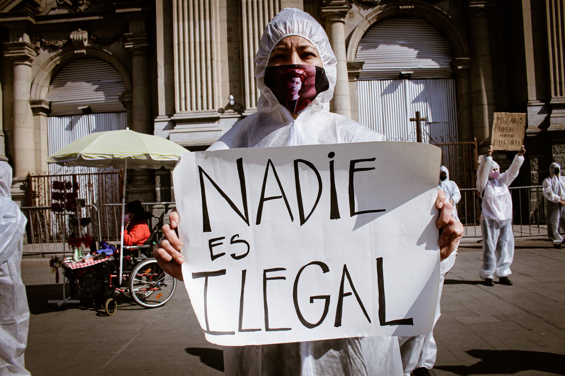 Intervención de la Coordinadora Nacional de Inmigrantes