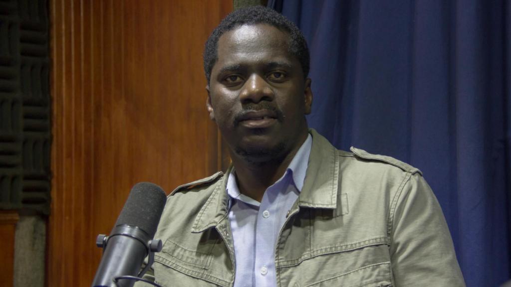 Yvenet Dorsainvil, de la Plataforma De Las Organizaciones Haitianas